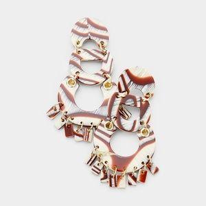 Celluloid Earrings